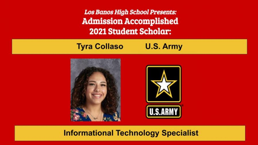 Admission Accomplished:  Tyra Collaso