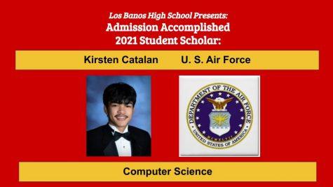 Admission Accomplished:  Kirsten Catalan