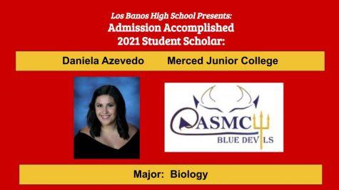 Admission Accomplished:  Daniela Azevedo